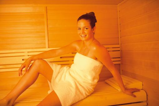 Sauna et problèmes de peau