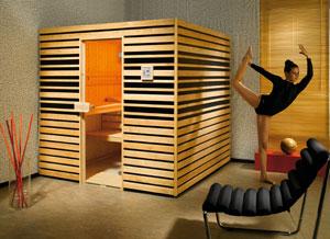 Intégrez et personnalisez votre sauna selon votre humeur ou votre décoration intérieure